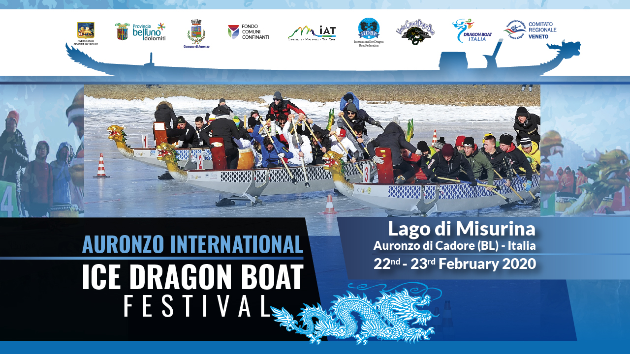 Auronzo International ICE DRAGON BOAT Festival
